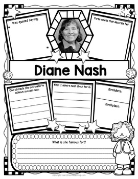 Diane Nash Research Organizers for Black History Month