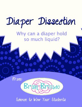 Diaper Dissection Activity | Chemistry, metric measurement, volume, math