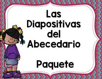 Diapositivas del Abecedario Paquete- Alphabet PowerPoints Bundle