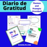Diario de Gratitud- Mis 5 Cositas | Gratitude Journal in S