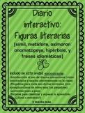 Interactive Reading Notebook: Figurative Language ( Spanish )