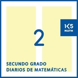 2nd Grade Math Journals (Spanish)