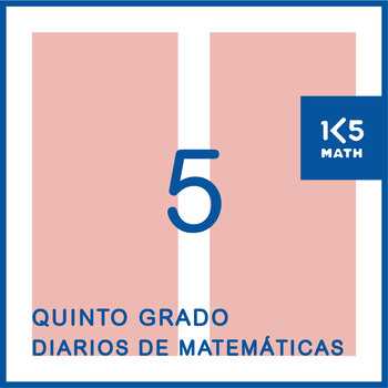 5th Grade Spanish Math Journals