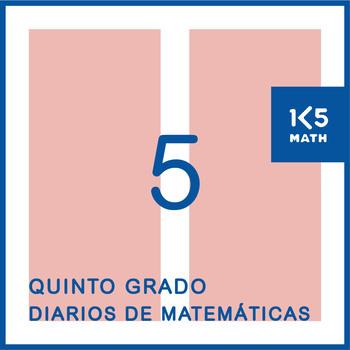 5th Grade Math Journals (Spanish)