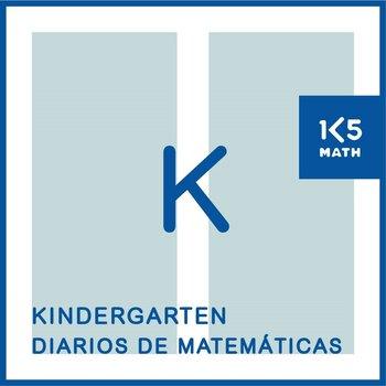 Kindergarten Math Journals: Spanish