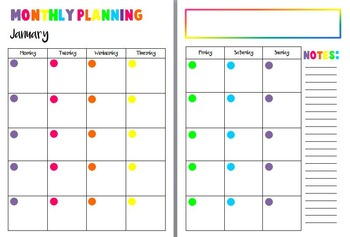 Diary 2016- week to a page planner