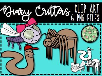 Diary Critter Clip Art