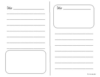 Diary Template Pages: Inspired by Doreen Cronin's Diary Books