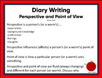 Diary Writing: Perspective & Point Of View