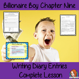 Diary Writing Complete Lesson  – Billionaire Boy