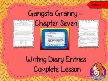 Diary Writing Complete Lesson  – Gangsta Granny