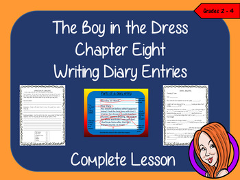 Diary Writing Complete Lesson  – The Boy in the Dress