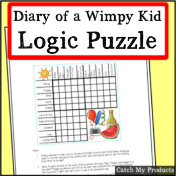 Diary of A Wimpy Kid Logic Puzzle