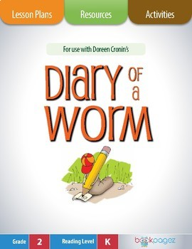 Diary of a Worm Lesson Plans & Activities Package, Second Grade (CCSS)