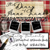 Diary of Anne Frank Play Study: Character (PowerPoint and Worksheets)