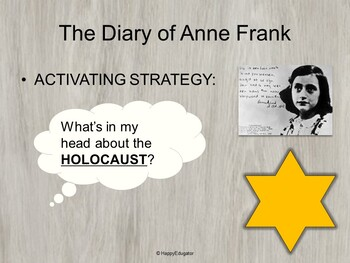 Diary of Anne Frank Play by Goodrich PowerPoint