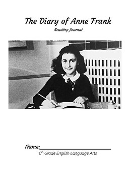 Diary of Anne Frank--Reading Journal Act 1