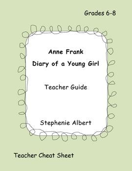 Diary of Anne Frank Teacher Guide