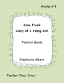 Diary of Anne Frank Teacher Guide
