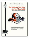 """Diary of Part-Time Indian"" FREE SAMPLE-activities,quiz,essay,passage test"
