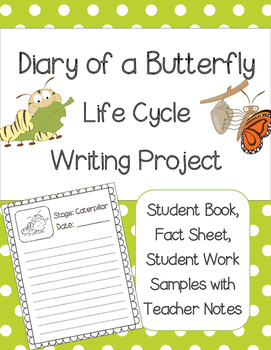 Diary of a Butterfly Writing Project (Life Cycles)