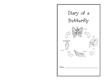 Diary of a Butterfly's Life Cycle