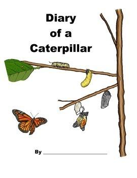 Diary of a Caterpillar - Butterfly Journal