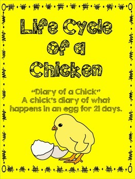 Diary of a Chick- Chicken Life Cycle Journal for Hatching Chicks
