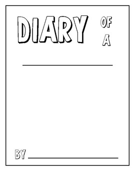 Diary of a... Create your own animal book!
