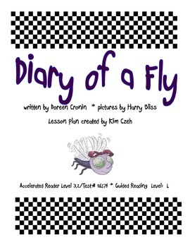 Diary of a Fly Guided Reading Packet