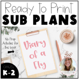 Diary of a Fly - No Prep Sub Plans