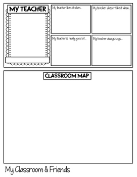 Diary of a Fourth Grade Student Flip Book