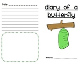 Diary of a Frog/Butterfly/Ladybug and More Pack!