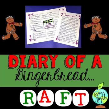 Gingerbread, Christmas, Narrative Writing, RAFT