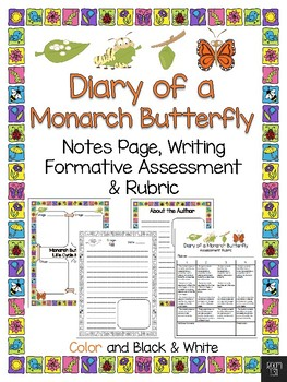 Diary of a Monarch Butterfly Student Book