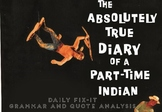 Diary of a Part-Time Indian by Alexie Daily Fix-It Quote and Grammar Analysis