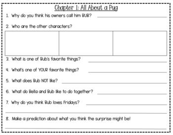 Diary of a Pug: Pug Blasts Off! Reading Comprehension Journal