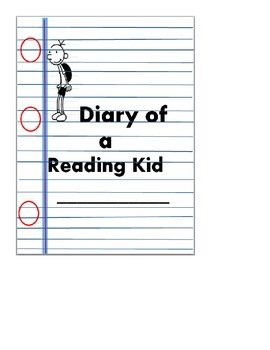 Diary of a Reading Kid Journal Cover!