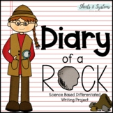 Diary of a Rock (Science Based Writing Project) Summative Assessment