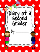 Diary of a Second Grader Writing Notebook Covers