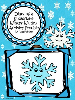 Diary of a Snowflake Winter Writing Activity