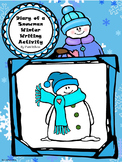 Diary of a Snowman Winter Writing Activity