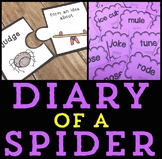 Diary of a Spider Activities