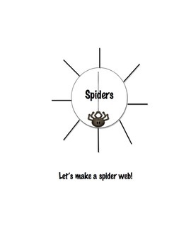 Diary of a Spider Activity