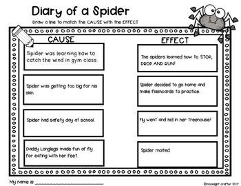 Diary of a Spider Book Companion: A Doreen Cronin Book Study