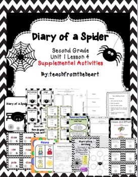 Diary of a Spider (Journeys Unit 1 Lesson 4)