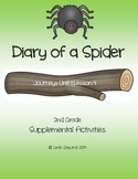 Diary of a Spider - Journeys Unit 1 Lesson 4 - CCSS