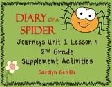 Diary of a Spider Journeys Unit 1 Lesson 4 Second Grade Su