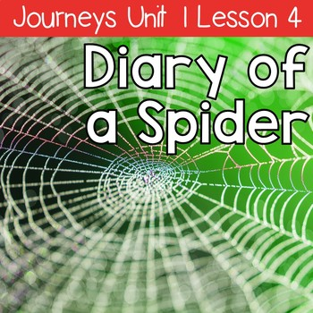 Diary of a Spider: Journeys Unit 1 Lesson 4 Supplemental R