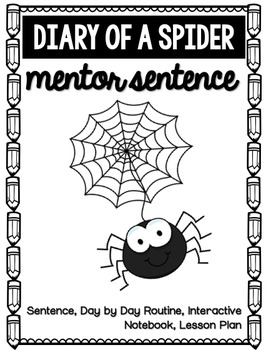 Diary of a Spider Mentor Sentence